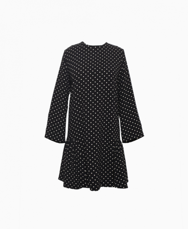 Location Robe LAURENCE BRAS Polka Dot Volants 1