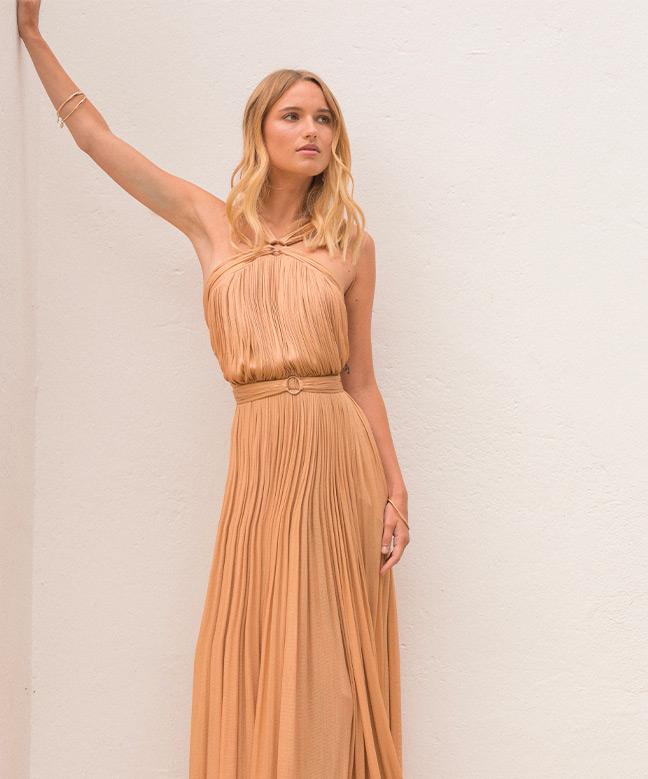 Location robe longue Maria Lucia Hohan Blossom Gown 1