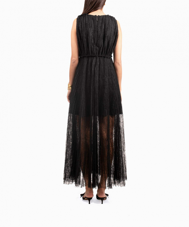 MSGM long dress rental Lace. 3