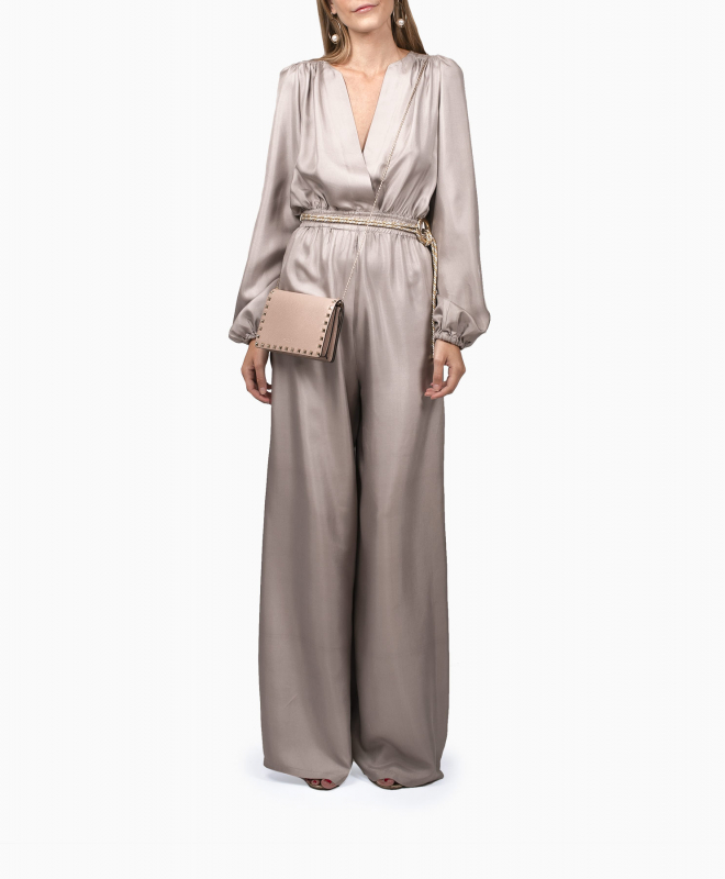 CAROLINA RITZ jumpsuit retal Champagne 70. 3
