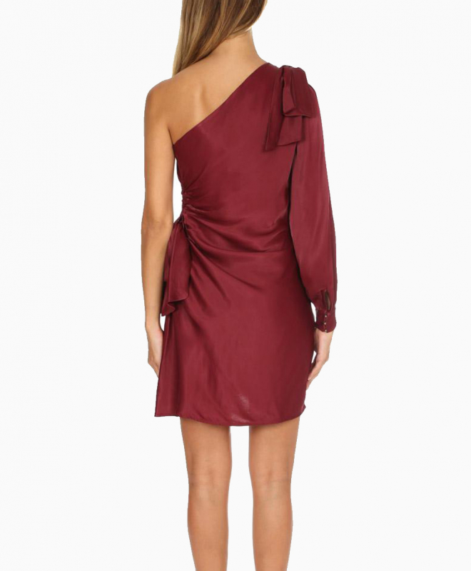 Location robe Zimmermann Maples Bow Burgundy 4