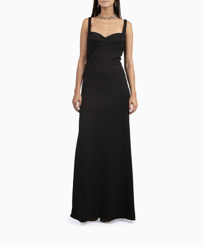 BCBG long dress rental Keana. 3