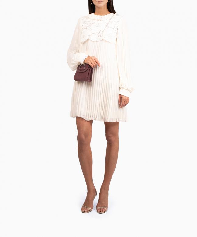 PHILOSOPHY DI LORENZO SERAFINI short dress rental Chiffon. 4