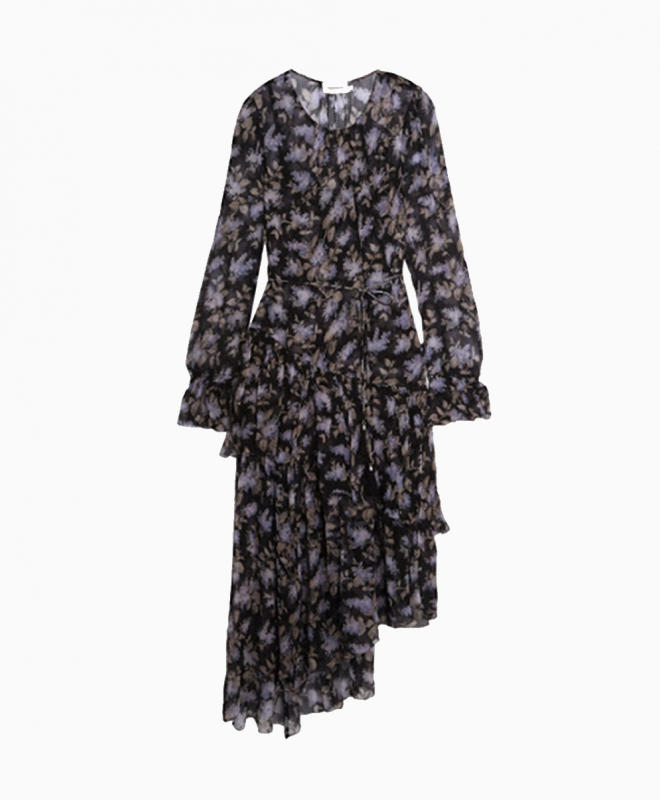 ZIMMERMANN dress rental Stranded Tier. 1