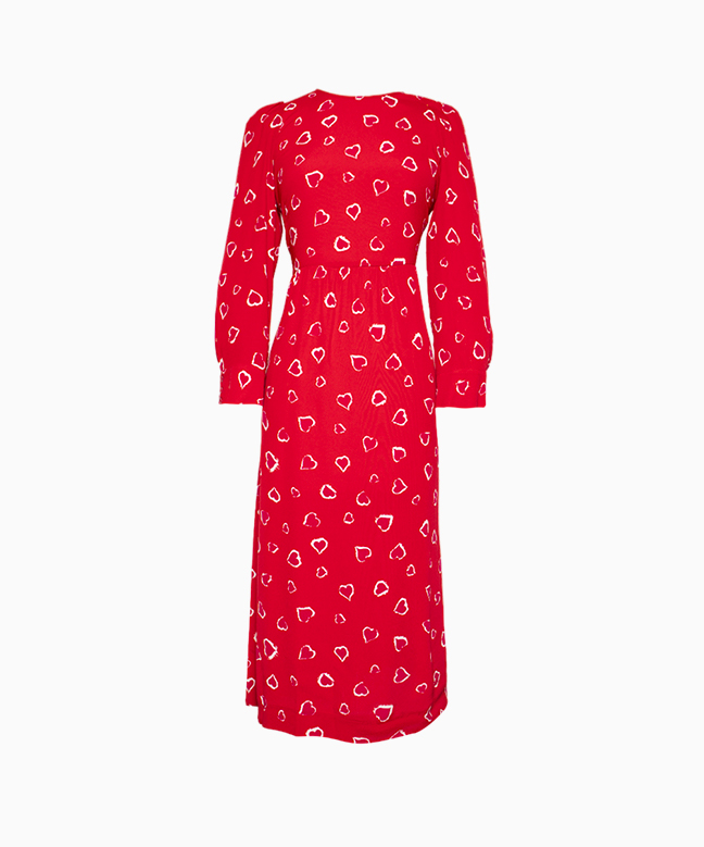 Location robe Tara Jarmon Rouge 1