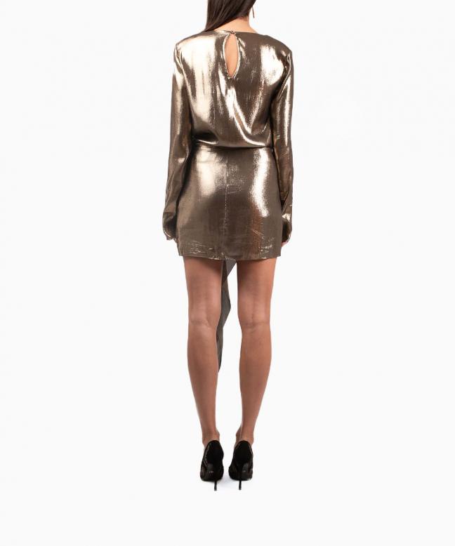 Location robe Saint-Laurent Gold 3