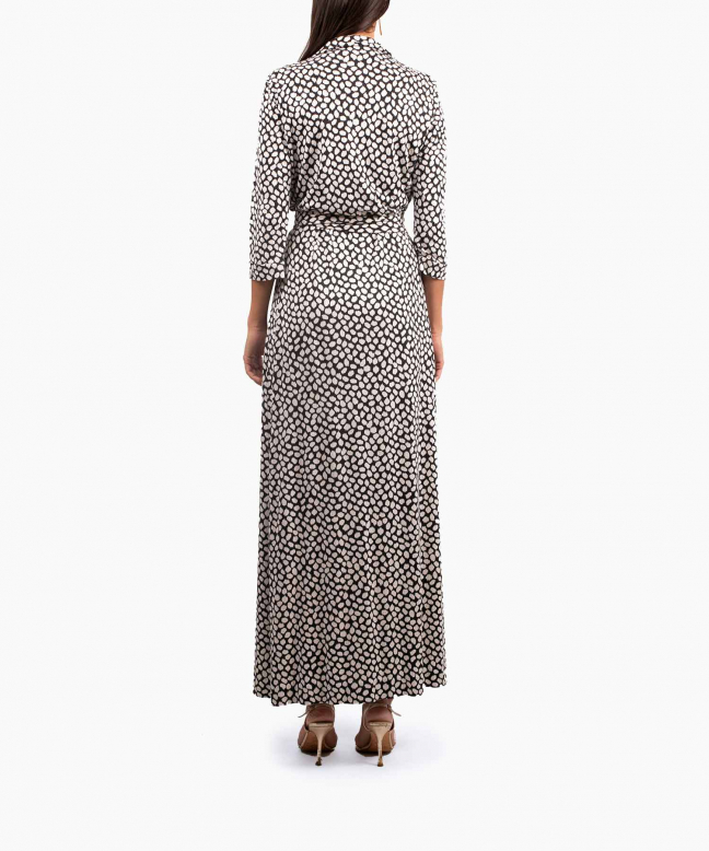 DIANE VON FURSTENBERG long dress rental Abigail. 3