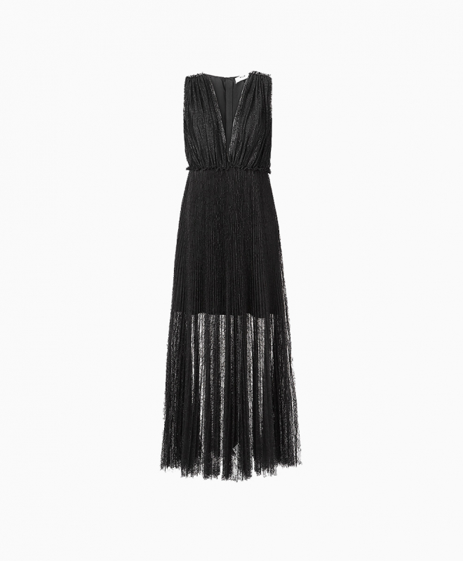 MSGM long dress rental Lace. 1