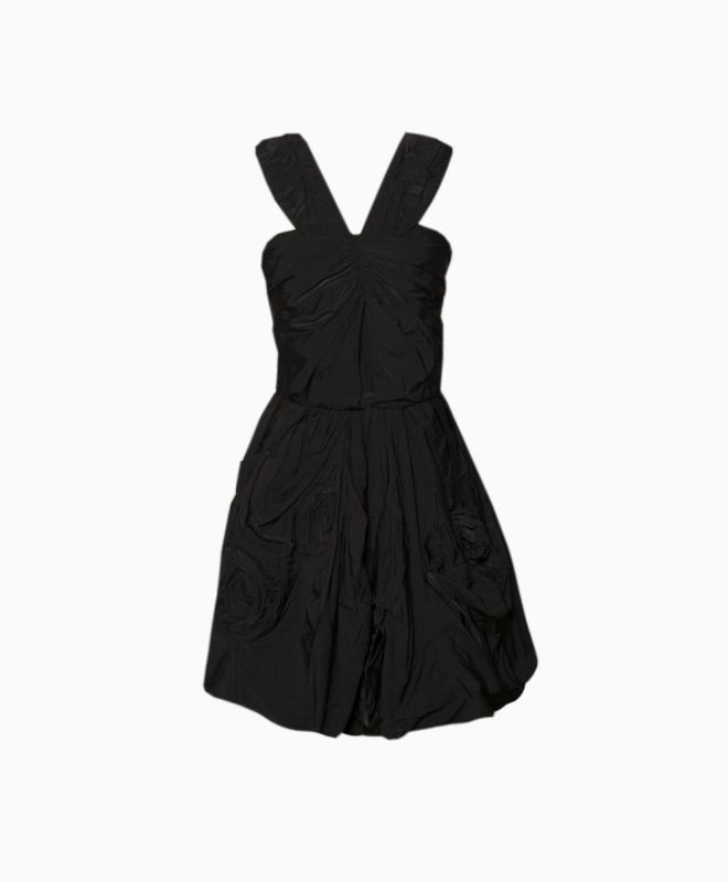 NINA RICCI short dress rental Origami. 1