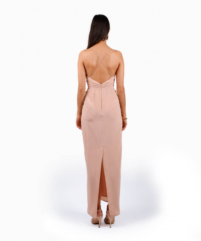 Location robe Zimmermann Silhouette Nude 3