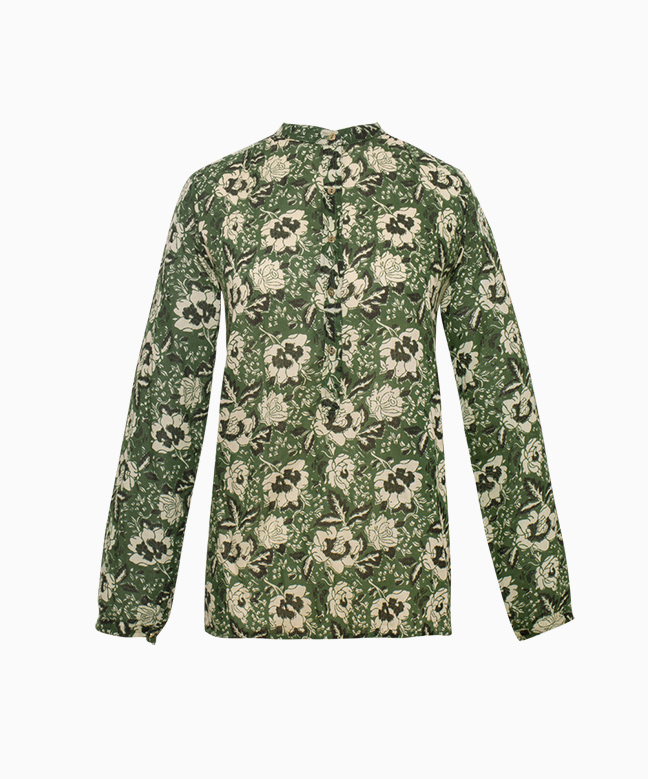 Location Chemise LAURENCE BRAS Bicycle Green