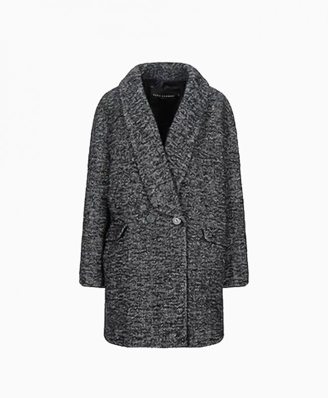 Location manteau TARA JARMON modèle Noir 1