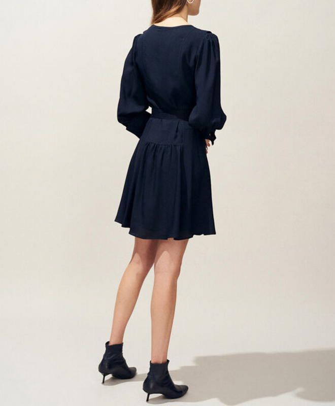 Location robe claudie pierlot rihane 4