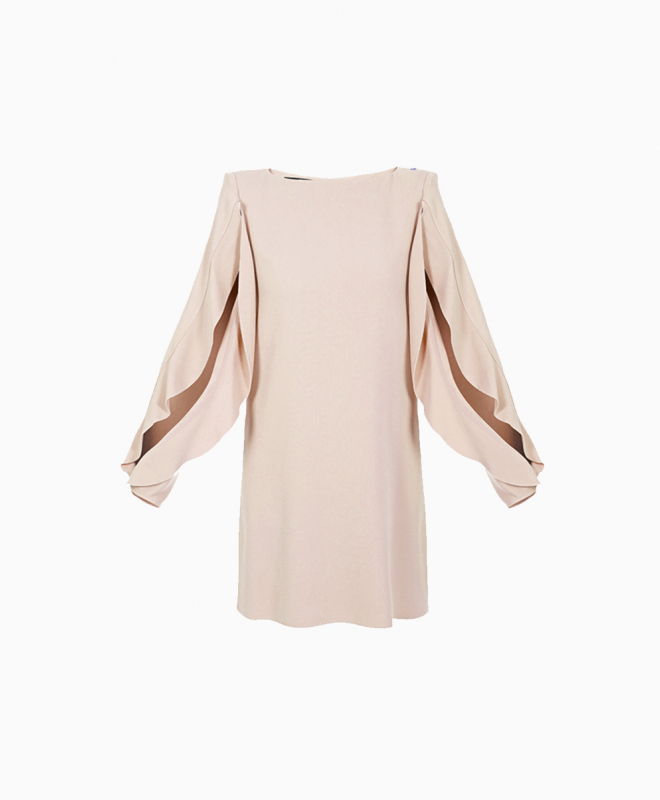 ELISABETTA FRANCHI dress rental Sartorial Nude. 1