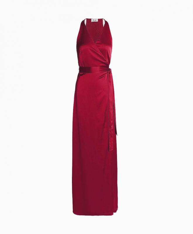 Location robe longue DVF Paola 1