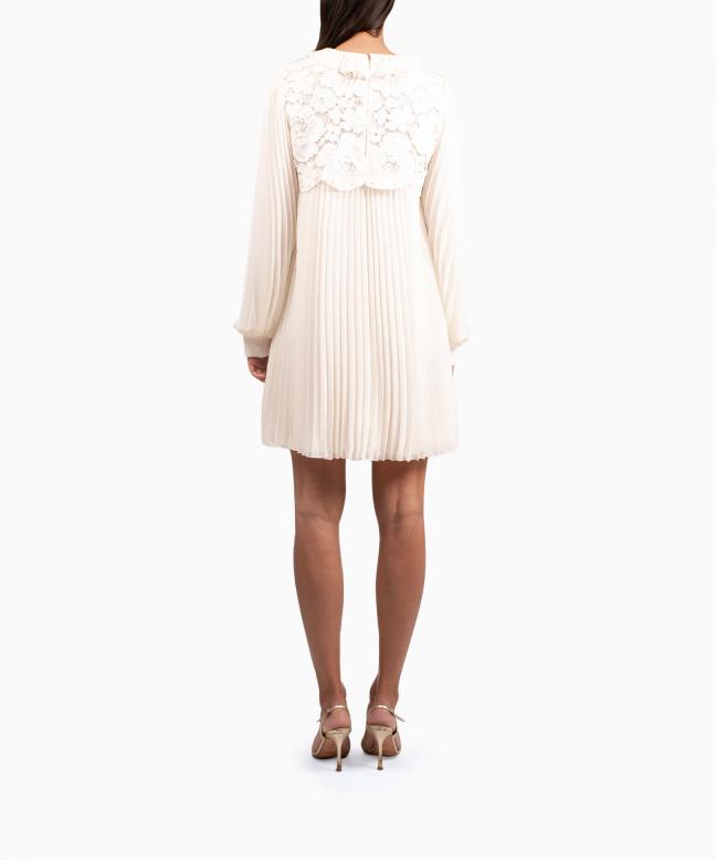 PHILOSOPHY DI LORENZO SERAFINI short dress rental Chiffon. 3