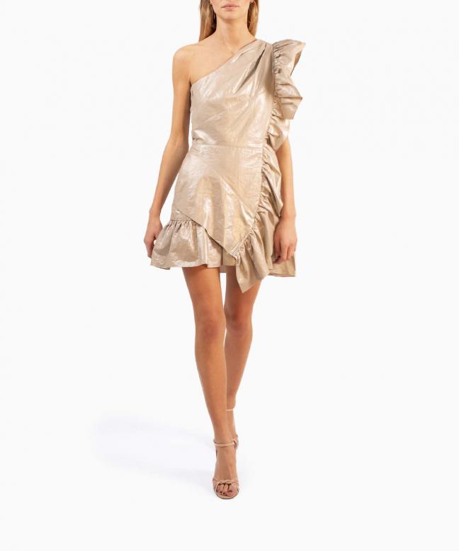 Location robe Isabel Marant Lavern Metallic 2