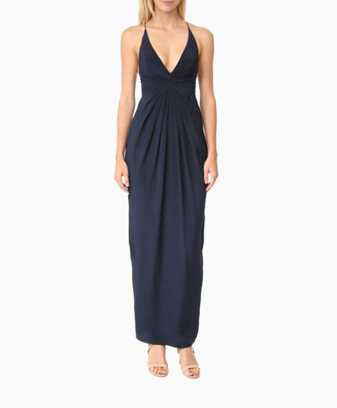Location robe Zimmermann Silhouette Navy 2