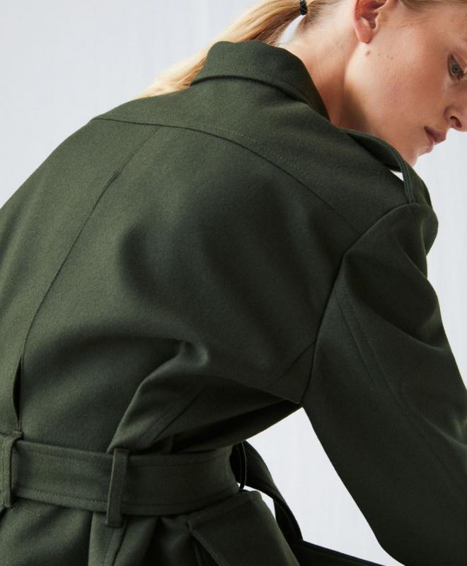 Location veste ARKET Melton Wool 3