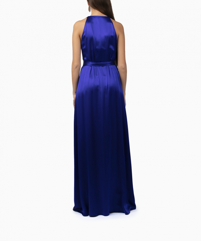 Location robe Diane Von Furstenberg Paola Blue Wrap 3