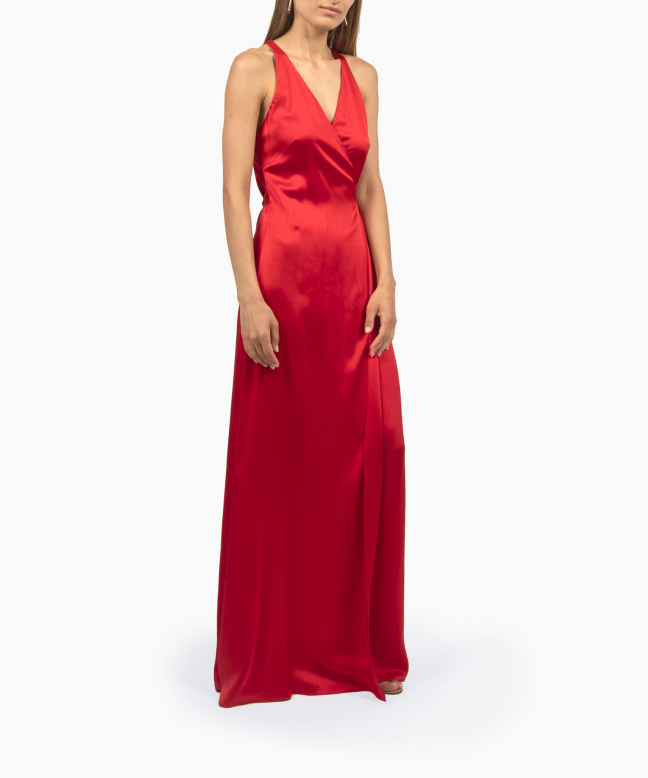 Location Robe Diane Von Furstenberg Paola Red 4