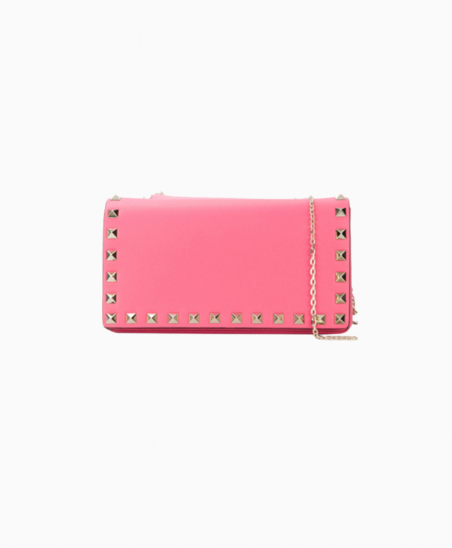 Location pochette Valentino Rockstud Rose 1