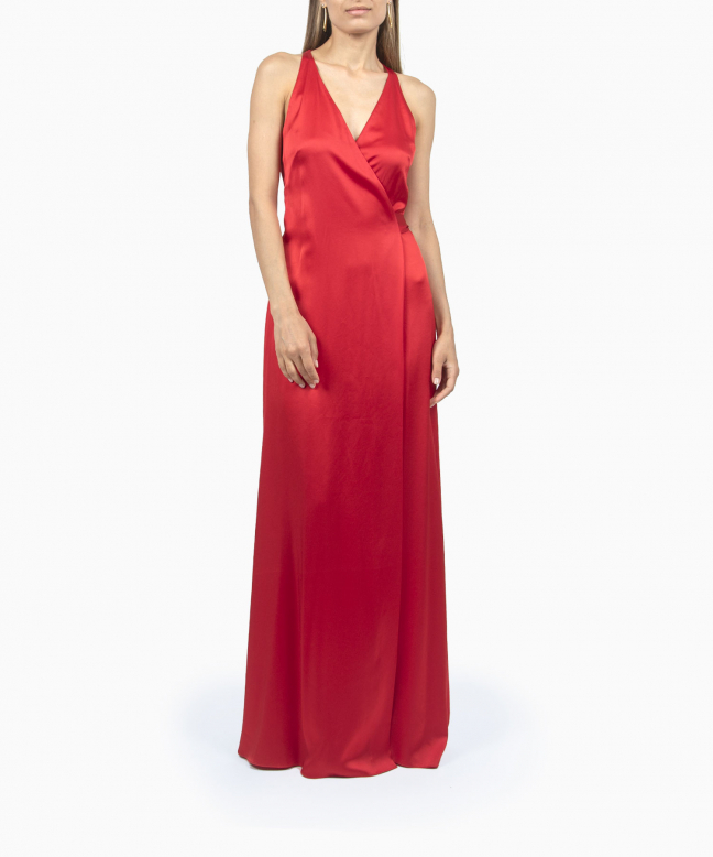Location Robe Diane Von Furstenberg Paola Red 2