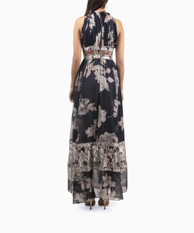 LEONARD long dress rental Celeste. 3