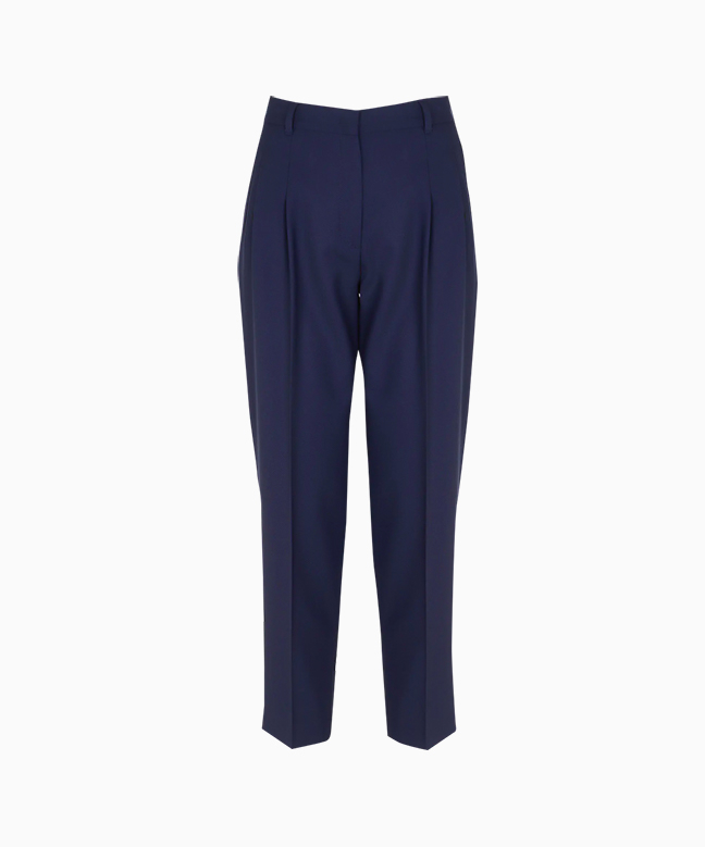Location pantalon PAUL SMITH carotte en laine 1