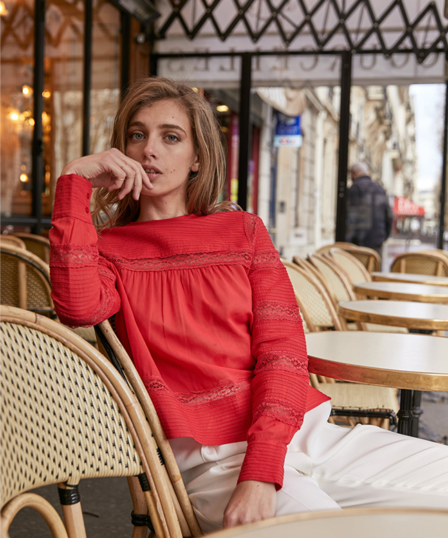 Location top ISABEL MARANT Rexton Rouge 2
