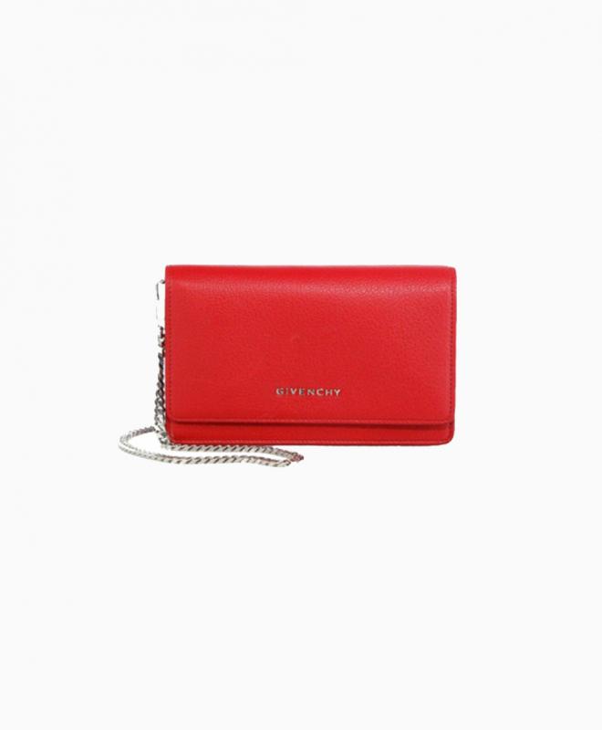 GIVENCHY bag rental Mini Pandora Orange. 1