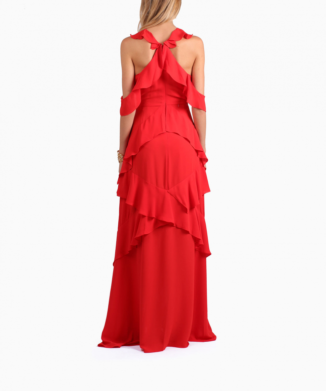 BCBG long dress rental Audrianna. 3