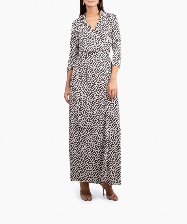 DIANE VON FURSTENBERG long dress rental Abigail. 2