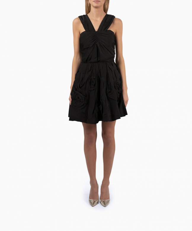 NINA RICCI short dress rental Origami. 4