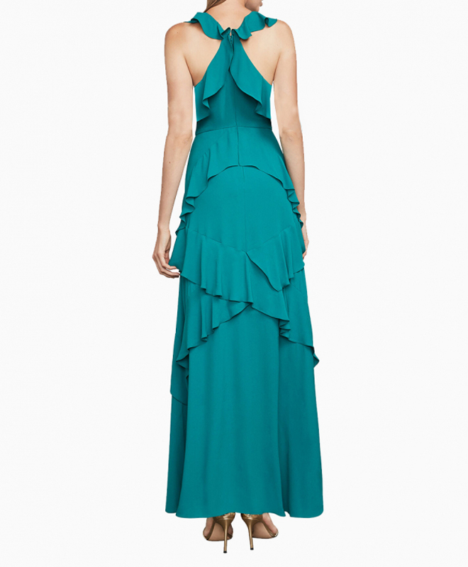 Location robe BCBG Audrianna Turquoise 3