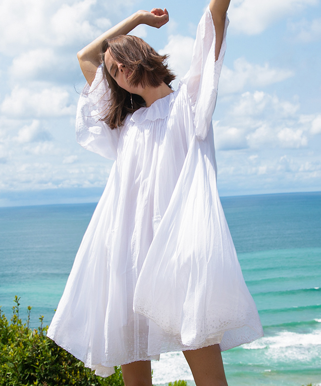 Location Robe LAURENCE BRAS Chickoo 2