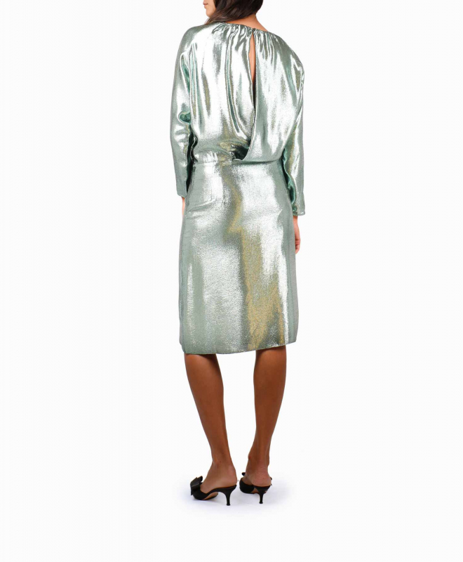 Location robe Indress Glitter Green 2