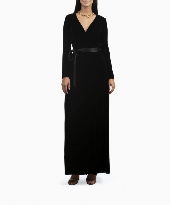 Location robe DVF Julian Wrap 2