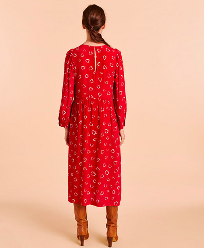 Location robe Tara Jarmon Rouge 3