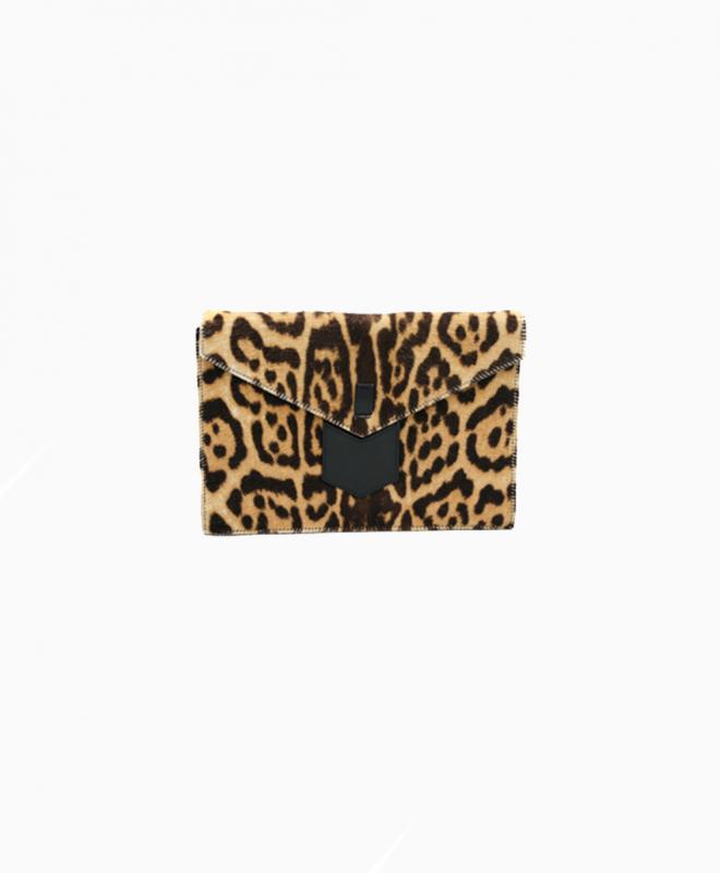 SAINT LAURENT purse rental Leopard. 1