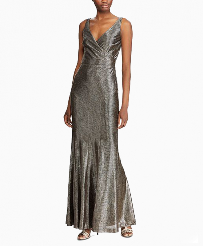 Location robe Ralph Lauren Metallic Sleeveless 2