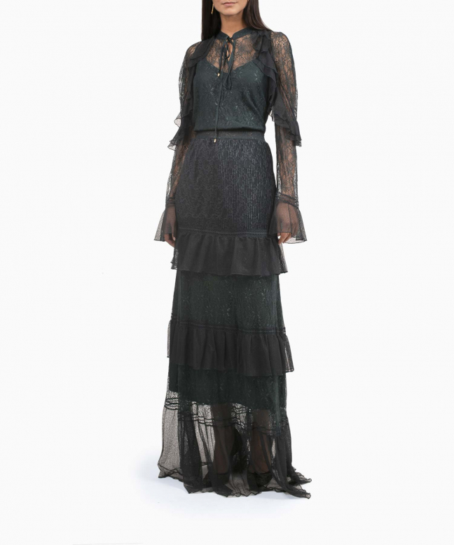 Location robe Roberto Cavalli Greenlace 4