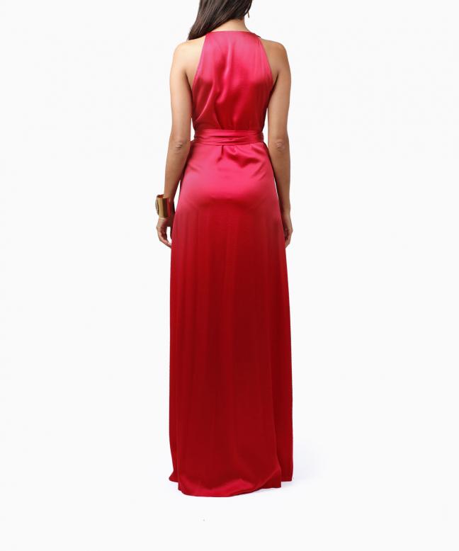 Location robe longue DVF Paola 3