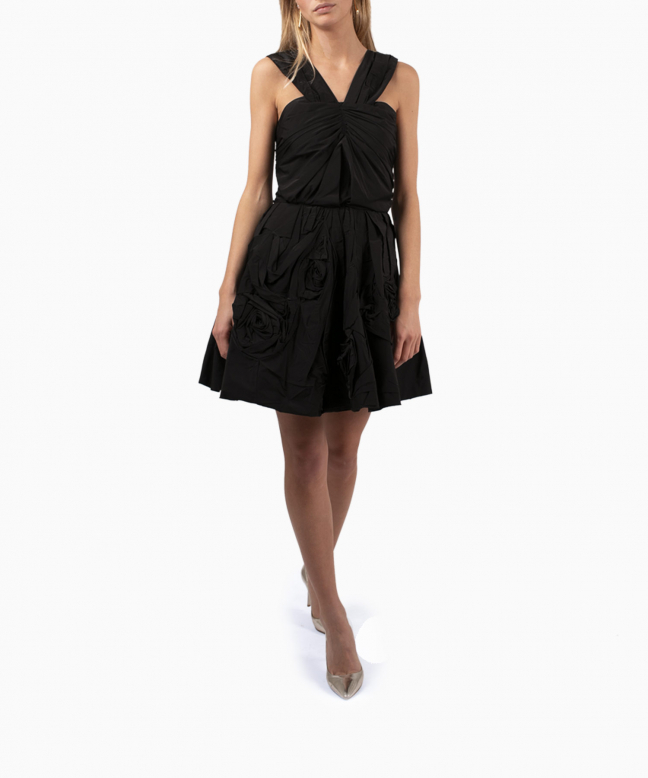 NINA RICCI short dress rental Origami. 2