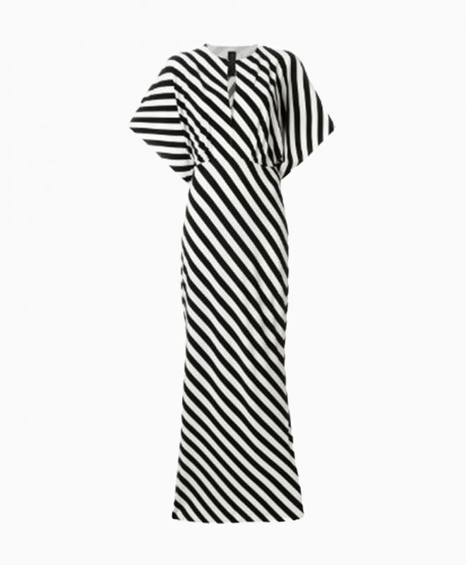 Location robe NORMA KAMALI Striped 1
