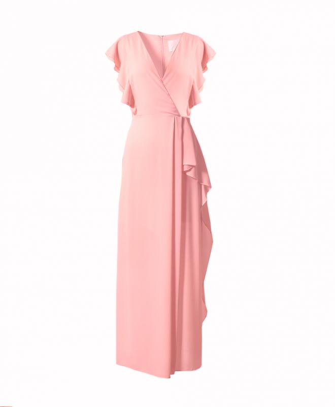 Location robe BCBG Marbelle Poudré 1