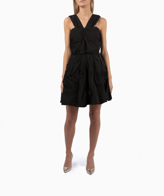 NINA RICCI short dress rental Origami. 5