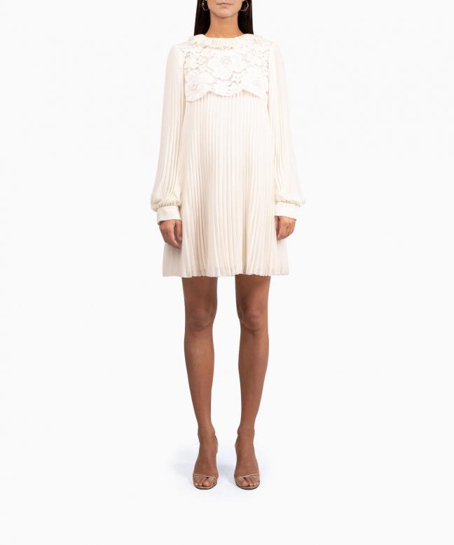 PHILOSOPHY DI LORENZO SERAFINI short dress rental Chiffon. 2