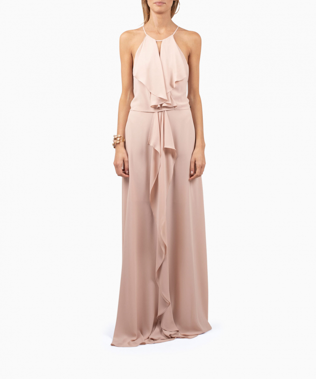 Location robe BCBG Jansia Nude 2