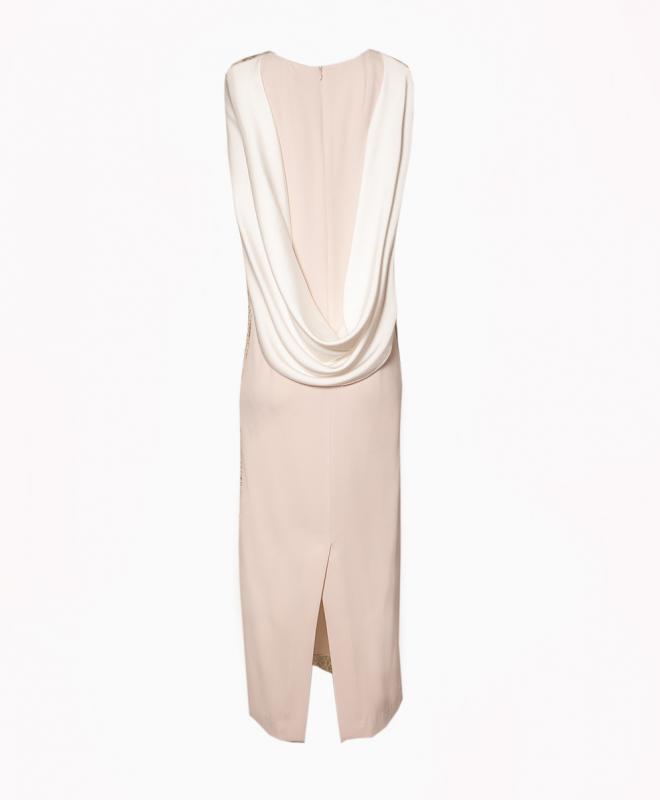 PAULE KA long dress rental Nude Goddess. 2
